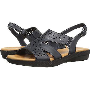 Easy Street vrouwen ' s Bolt platte sandaal