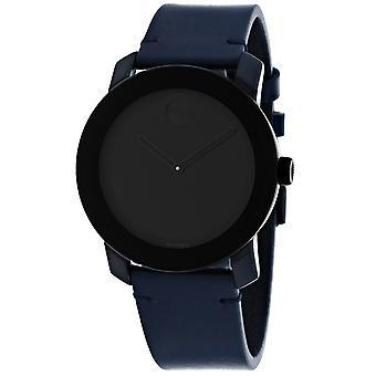 Movado Men's Bold Black Dial Watch - 3600583