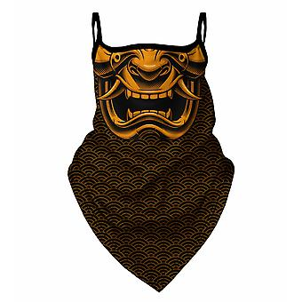 Herr GUGU & Miss GO japanische Maske gold Bandana Gesichtsmaske BM 2049
