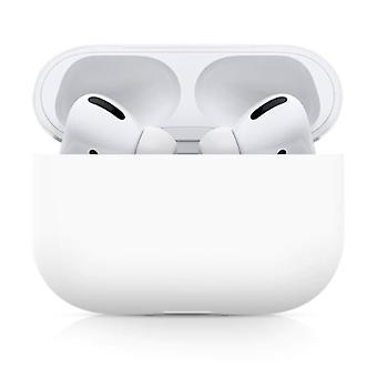 SIFREE Flexible Case for AirPods Pro - Silicone Skin AirPod Case Cover Smooth - White