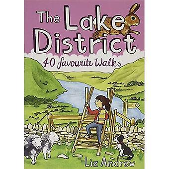 The Lake District: 40 favoriete wandelingen