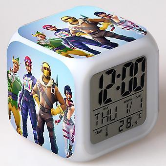Colorful Multifunctional LED Children's Alarm Clock -Quinze dias #18