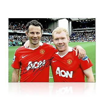 Ryan Giggs Signed Photo: Manchester United Legends