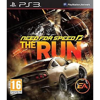 Need for Speed The Run PS3 Game