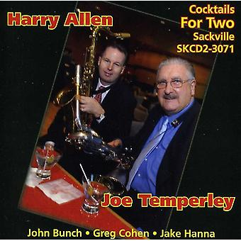Temperley/Allen - Cocktails for Two [CD] USA import