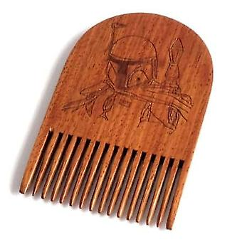 بوبا فيت مشاط اللحية الخشبية