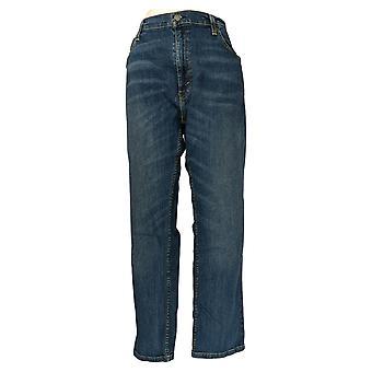 Levi's Men's Straight Jeans 38x30 Straight Leg w/ Pockets Blue 95