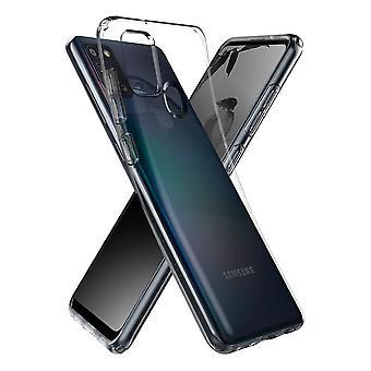 Coque Pour Samsung Galaxy A21s, Housse De Protection En Silicone De Haute Qualité, Transparent