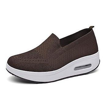 Zapatos de plataforma plana / Mocasines Casual Women's Slip On, Female Flats Zapatos