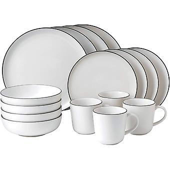 Royal Doulton Gordon Ramsay Bread Street 16 Pc Dinnerware Set