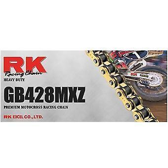 RK GB428MXZ X 134 Motocross Racing Drive Chain Heavy Duty Gold XW-Ring