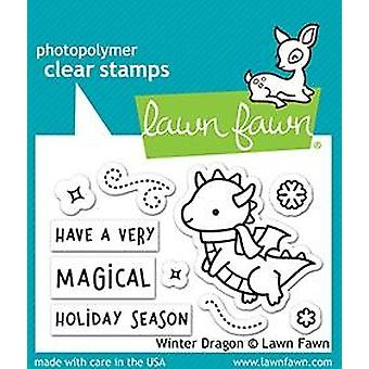Gazon Fawn Winter Dragon Clear Stempels