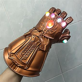 Light Gauntlet War Cosplay Handsker Kostume Halloween Rekvisitter Endgame American