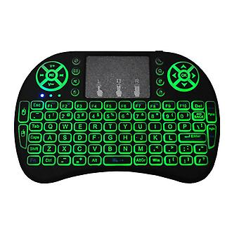 Colors Backlit Mini Wireless Keyboard English Russian Colour Air Mouse