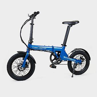 New Perry Ehopper 16 inch Folding Electric Bike Blue
