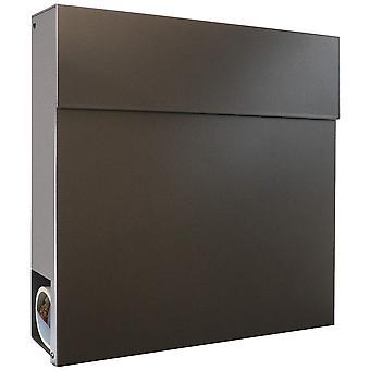 MOCAVI Box 530 Design boîte aux lettres anthracite en acier en acier (DB 703)