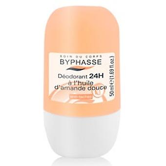 Byphasse Deodorant Almonds Roll on 50 ml