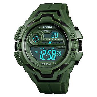 SKMEI 1383 Fashion Calendar Stopwatch Luminous Display Digital Watch 50M Waterp