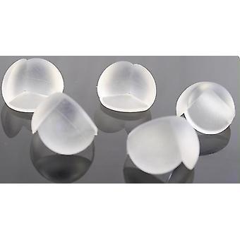 Spherical Table Corner Transparent Anti-collision Protection Cover 20pcs