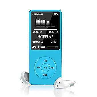 Avspilling mp3, mp4 lossless lydmusikkspiller, fm-opptaker, Tf-kort, ultra tynn