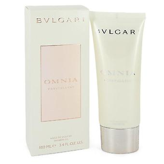 Omnia Crystalline Shower Oil By Bvlgari 3.3 oz Shower Oil
