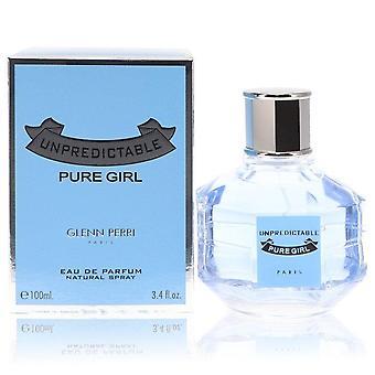 Unpredictable Pure Girl Eau De Parfum Spray By Glenn Perri 3.4 oz Eau De Parfum Spray