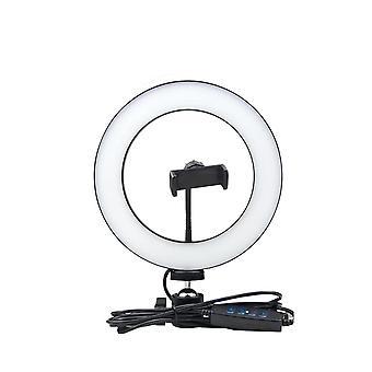 Usb Power Himmennettävä Selfie-valorengas, led-lamppu valokuvaukseen Live Video