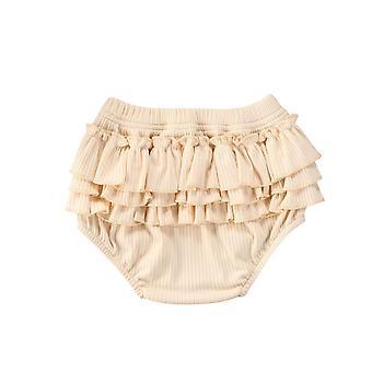 Padrão fashion fold bloomers - Shorts de costela babado