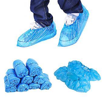 Liukumaton vedenpitävä saappaan kertakäyttöinen kenkäkansi