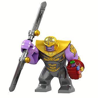 Marvel Iron Man s rukavicou Hulk Thanos Spider-man Model figúrky konštrukcie