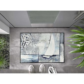 tvätt+torr dörrmatta Segla bort 50 x 75 cm tvättbar smutsmatta