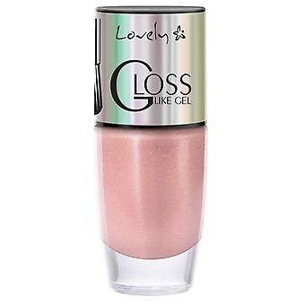 Lovely Nail Polish Gloss Like Gel