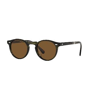 Oliver Peoples Gregory Pack 1962 OV5456SU 168053 Emerald Bark/True Brown Sunglasses