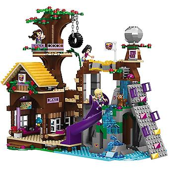 Adventure Camp Tree House Emma Mia Figure Model Building Block (light Green)