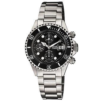 Gevril Fashion BlackDial Men's Watch 4157A