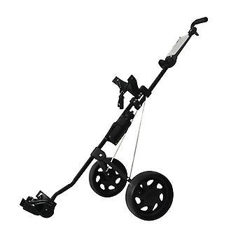 Chariot pliable de sac de golf, chariot, fournitures extérieures d'outil de sports