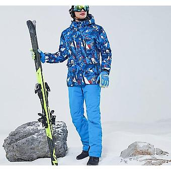 Men Thermal Hoodies Outdoor Ski Jacket Windproof Warm Skiing Equipment