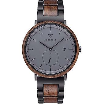 Kerbholz Wristwatch Men's Wooden Watch 4251240414058 Anton