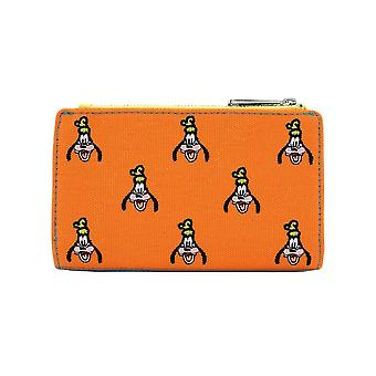 Loungefly x Disney Goofy Toile Brodée Flap Purse