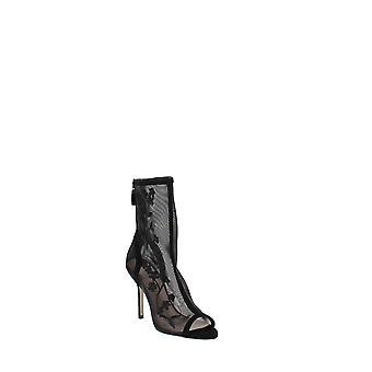 Stuart Weitzman | Vanna Mesh Peep-Toe High-Heel Boots