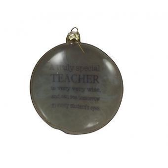 Heaven Sends Special Teacher Christmas Tree Bauble