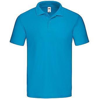 Fruit van de Loom Mens Original Classic Fit Pique Polo Shirt