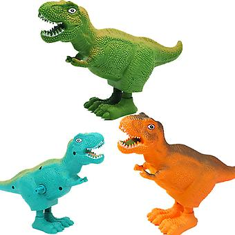 3pcs Remote Control Dinosaur Toys For Kids Electronic Toy Walking Spray