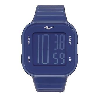Everlast Unisex Adult Quartz Digital Watch with Plastic Strap EVER33-504-003
