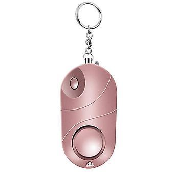 Alerta de proteção Segurança Pessoal Grito alto chaveiro alarme de emergência