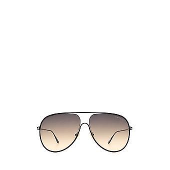 Tom Ford FT0824 óculos escuros pretos masculinos