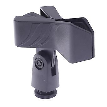 Monitoiminen kannettava mikrofoniteline Universal Stage Use Clip Stand