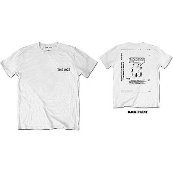 The 1975 - ABIIOR Teddy Men's Medium T-Shirt - White