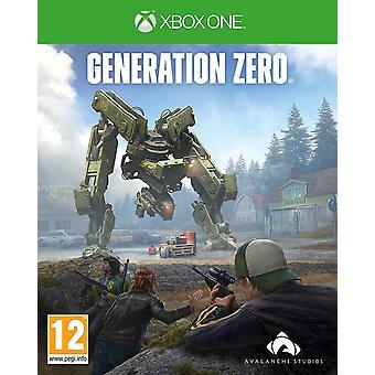 Generation Zero Xbox One Game