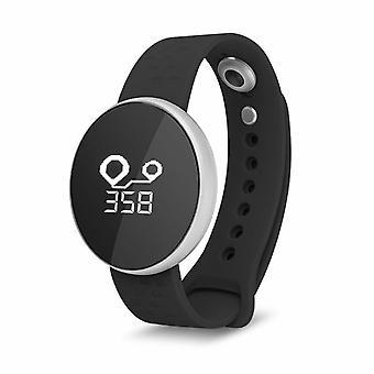 Aquarius Water Resistant Smart Watch avec écran OLED & Bluetooth, Argent